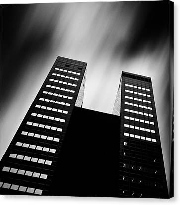 Twin Towers Canvas Print by Dave Bowman