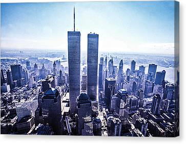 Twin Towers Year 2000 Canvas Print