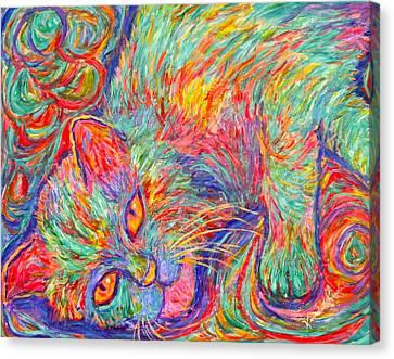 Twine Dreams Canvas Print by Kendall Kessler
