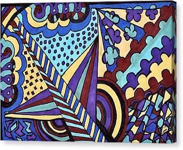 Twins Canvas Print by Lesa Weller