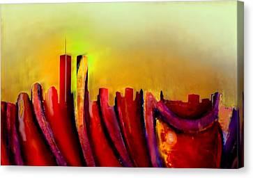 Twins - Marcello Cicchini Canvas Print by Marcello Cicchini