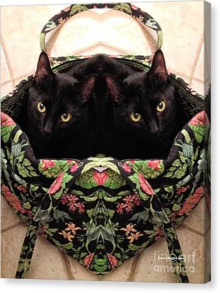 Canvas Print featuring the photograph Twins by Luther Fine Art