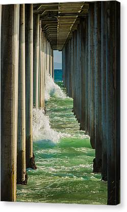 Turquois Water Canvas Print - Twins by Scott Campbell