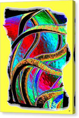 Twist And Shout 3 Canvas Print by Will Borden