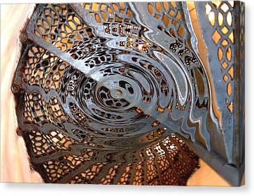Twist Of Steel Canvas Print
