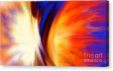 Twisted Canvas Print by Anita Lewis