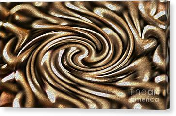 Twisted Chains Canvas Print