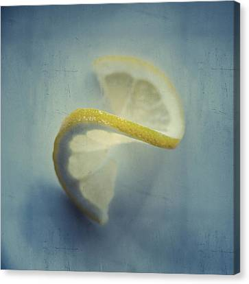 Twisted Lemon Canvas Print by Ari Salmela