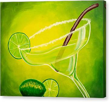 Twisted Margarita Canvas Print