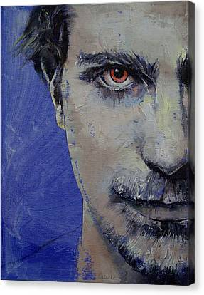 Twisted Canvas Print by Michael Creese