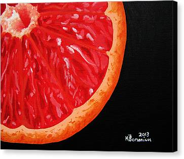 Twisted Passion Canvas Print by Kayleigh Semeniuk
