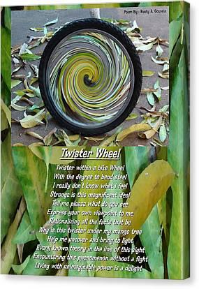 Twister Wheel Canvas Print