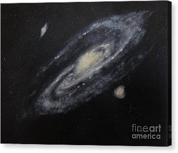 Two Arm Galaxy Canvas Print by Tony Ramos