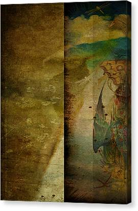 Two Delicate Screens Canvas Print by Sarah Vernon
