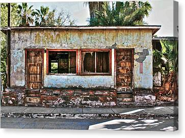 Canvas Print featuring the photograph Two Door Model by Kandy Hurley