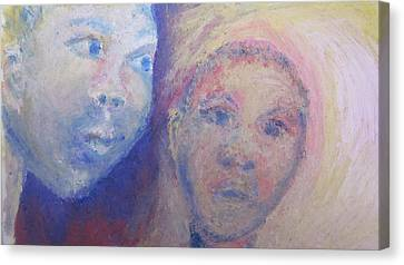 Two Faces Canvas Print by Cherie Sexsmith