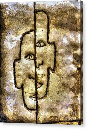 Two Facetwo Canvas Print by Yury Bashkin