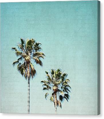 Canvas Print featuring the photograph Two For The Sun - Square by Lisa Parrish