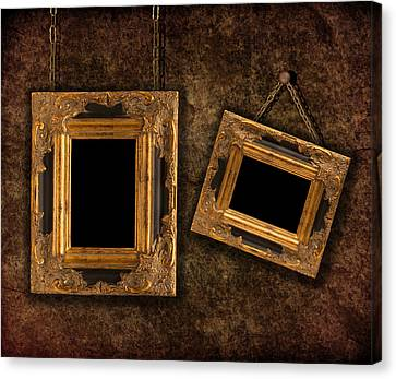 Two Hanging Frames Canvas Print