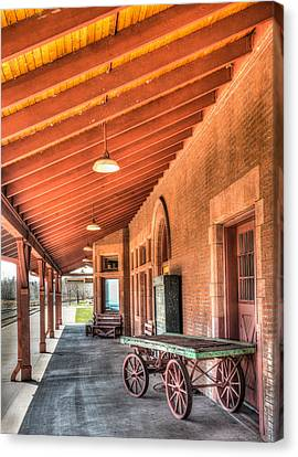 Two Harbors Train Depot Canvas Print
