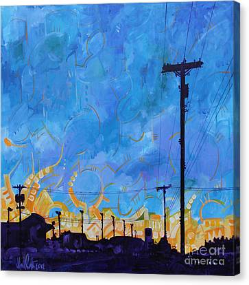 Two Minute Drive Canvas Print by Michael Ciccotello
