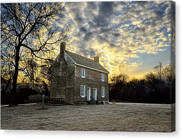 Nashville Tennessee Canvas Print - Two Rivers Plantation by Steven Michael