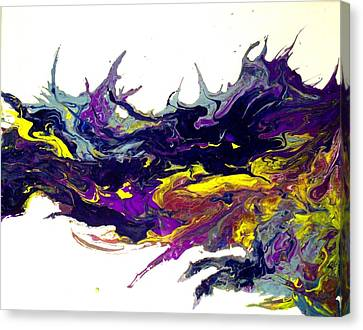 two souls II Canvas Print by Holly Anderson