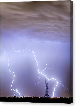 Two Strikes Canvas Print by James BO  Insogna