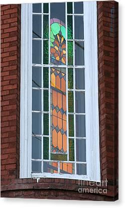 Two Windows At St. John Canvas Print by Jennifer Apffel
