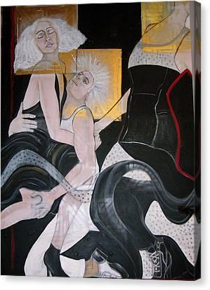 Twos Company Canvas Print by Darlene Graeser