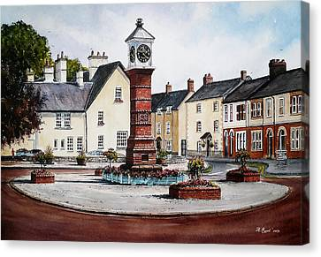 Twyn Square Usk Wales Canvas Print by Andrew Read