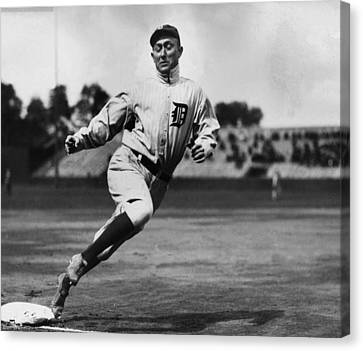 Ty Cobb Canvas Print - Ty Cobb by Gianfranco Weiss