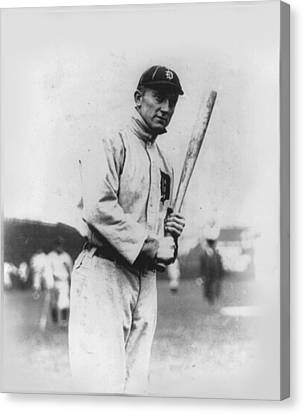 Ty Cobb Canvas Print by Unknown