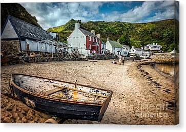 Ty Coch Inn Canvas Print by Adrian Evans