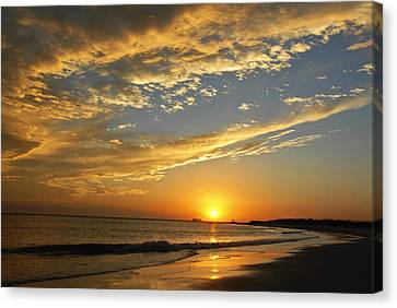 Tybee Dawn Canvas Print