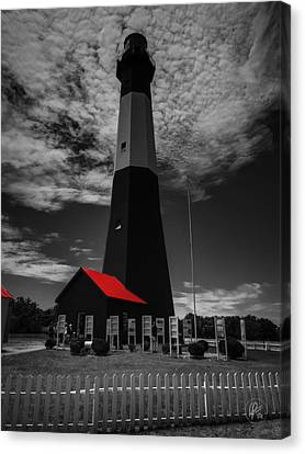 Architecture Canvas Print - Tybee Island Light 001 Ck by Lance Vaughn