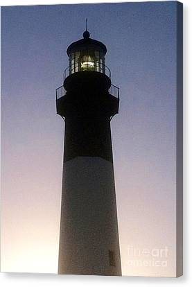 Tybee Island Lighthouse Canvas Print by Barbara Chase