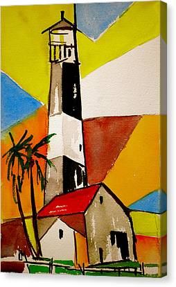 Tybee Lighthouse Canvas Print by Pete Maier