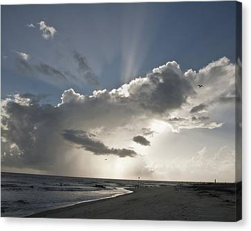 Tybee Sunrise Canvas Print