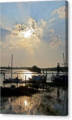 Tybee Sunset Canvas Print