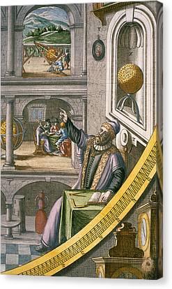 Astronomical Canvas Print - Tycho Brahe by Joan Blaeu