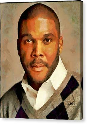 Tyler Canvas Print by Wayne Pascall
