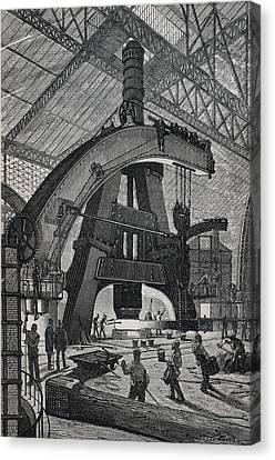 Type Of Hammer. Illustration Canvas Print by Everett