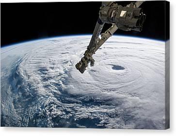 Typhoon Neoguri Canvas Print by Nasa