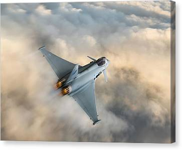 Typhoon Warning Canvas Print by Peter Chilelli