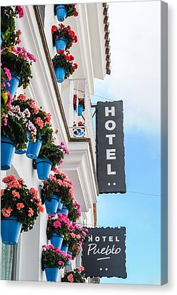 Typical Andalusian Hotel Canvas Print