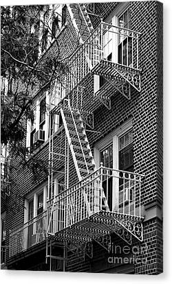 Typical Building Of Brooklyn Heights - Brooklyn - New York City Canvas Print