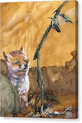 Indigenous Wildlife Canvas Print - Tyrah's Tale by J W Baker