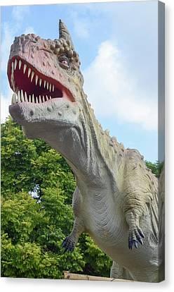 Tyrannosaurus Rex (t. Rex) Canvas Print by Photostock-israel