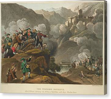 Tyrolese Patriots Canvas Print by British Library